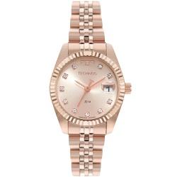 Relógio Technos Feminino Riviera Gl10ih/1t Rosé - ... - Fábrica do Ouro