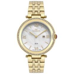 Relógio Technos Feminino St.moritz Gl15at/4b Doura... - Fábrica do Ouro