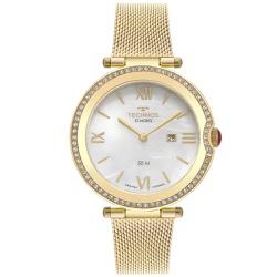 Relógio Technos Feminino St.moritz Gl15aw/1b Doura... - Fábrica do Ouro