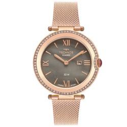 Relógio Technos Feminino St.moritz Gl15ax/1c Rosé ... - Fábrica do Ouro