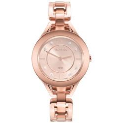 Relógio Technos Feminino Elos Gl20hn/1t Rosé - 700... - Fábrica do Ouro