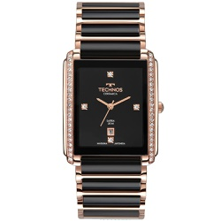 Relógio Technos Feminino Ceramic Gn10aw/4p Rosé - ... - Fábrica do Ouro