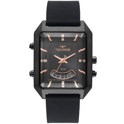 Relógio Technos Feminino Anadigi T200ai/2p Preto -... - Fábrica do Ouro