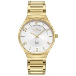 Relógio Technos Masculino Slim 1l22wk/1k Dourado -... - Fábrica do Ouro
