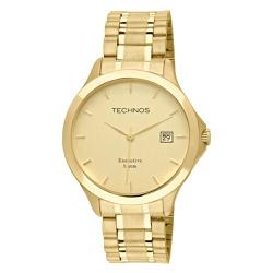 Relógio Technos Masculino Steel 1s13bwtdy/4x Doura... - Fábrica do Ouro