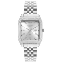 Relógio Technos Masculino Riviera 2015ced/1k Prata... - Fábrica do Ouro