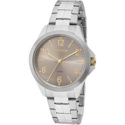 Relógio Technos Masculino Casual 2035mej/1c Prata ... - Fábrica do Ouro