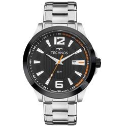 Relógio Technos Masculino Racer 2115knv/1p Prata -... - Fábrica do Ouro