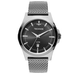 Relógio Technos Masculino Steel 2115lal/0p Prata -... - Fábrica do Ouro