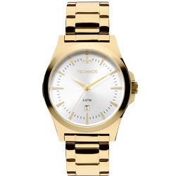 Relógio Technos Masculino Steel 2115lam/4k Dourado... - Fábrica do Ouro