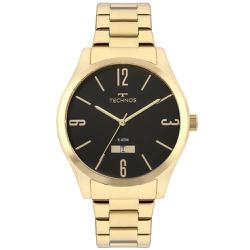 Relógio Technos Masculino Steel 2115mnws/4p Dourad... - Fábrica do Ouro