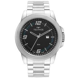 Relógio Technos Masculino Racer 2115mny/1a Prata -... - Fábrica do Ouro