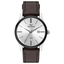 Relógio Technos Masculino Steel 2115mpp/1k Prata -... - Fábrica do Ouro
