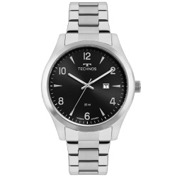 Relógio Technos Masculino Steel 2115mrbs/1p Prata ... - Fábrica do Ouro