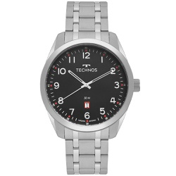 Relógio Technos Masculino Steel 2115msas/1p Prata ... - Fábrica do Ouro