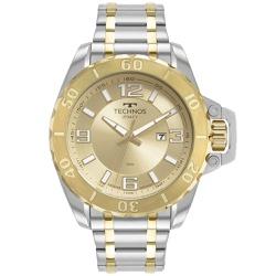 Relógio Technos Masculino Legacy 2115mxe/1d Bicolo... - Fábrica do Ouro