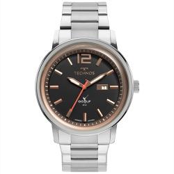 Relógio Technos Masculino Golf 2115mxw/1p Prata - ... - Fábrica do Ouro