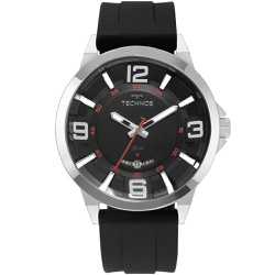 Relógio Technos Masculino Racer 2117lbn/8p Prata -... - Fábrica do Ouro