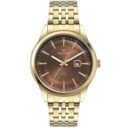 Relógio Technos Masculino Steel 2117lcw/1m Dourado... - Fábrica do Ouro