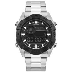 Relógio Technos Masculino Digital Bjk001aa/1p Prat... - Fábrica do Ouro