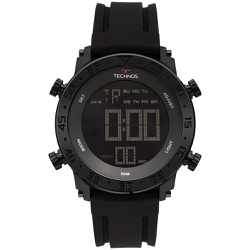 Relógio Technos Masculino Digital Bjk006aa/4p Pret... - Fábrica do Ouro
