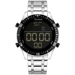 Relógio Technos Masculino Digital Bjk006ae/1p Prat... - Fábrica do Ouro