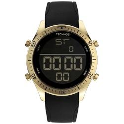 Relógio Technos Masculino Digital Bjk006af/2p Dour... - Fábrica do Ouro