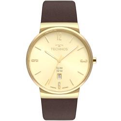 Relógio Technos Masculino Slim Gm10yo/2x Dourado -... - Fábrica do Ouro