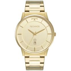 Relógio Technos Masculino Slim Gm10yp/1x Dourado -... - Fábrica do Ouro