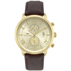 Relógio Technos Masculino Grandtech Jp11ad/4x Dour... - Fábrica do Ouro