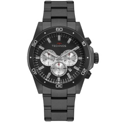Relógio Technos Masculino Skymaster Js25ca/4p Pret... - Fábrica do Ouro