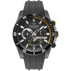 Relógio Technos Masculino Carbon Js25cn/2p Grafite... - Fábrica do Ouro