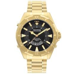 Relógio Technos Masculino Skydiver Wt205fl/4p Dour... - Fábrica do Ouro