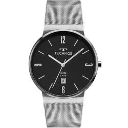 Relógio Technos Unissex Slim Gm10yi/1p Prata - 700... - Fábrica do Ouro
