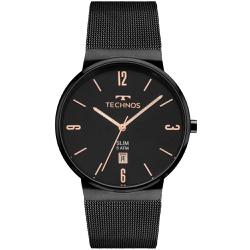 Relógio Technos Unissex Slim Gm10yj/4p Preto - 700... - Fábrica do Ouro