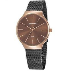 Relógio Seculus Feminino Fashion 77057lpsvis2 Bico... - Fábrica do Ouro