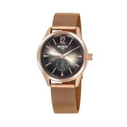 Relógio Seculus Feminino Glamour 20845lpsvrs1 Rosé... - Fábrica do Ouro