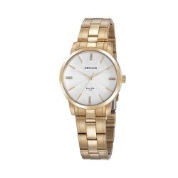 Relógio Seculus Feminino Cristais 20865lpsvda1 Dou... - Fábrica do Ouro