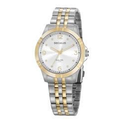 Relógio Seculus Feminino Cristais 20949lpsvba1 Pra... - Fábrica do Ouro