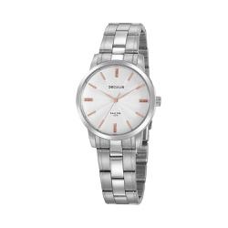 Relógio Seculus Feminino Cristais 20865l0svna3 Pra... - Fábrica do Ouro