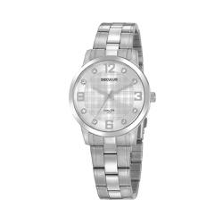 Relógio Seculus Feminino Casual Cristais 20947l0sv... - Fábrica do Ouro