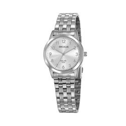 Relógio Seculus Feminino Casual 77009l0svna3 Prata... - Fábrica do Ouro