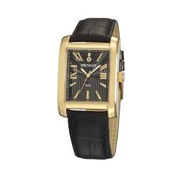 Relógio Seculus Masculino Couro 23692gpsvdc2 Doura... - Fábrica do Ouro