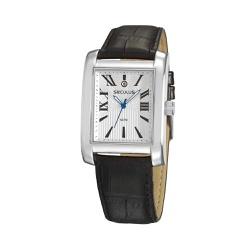 Relógio Seculus Masculino Couro 23692g0svnc1 Prata... - Fábrica do Ouro