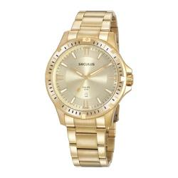 Relógio Seculus Masculino Casual Monocromático 209... - Fábrica do Ouro