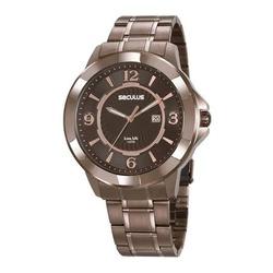 Relógio Seculus Masculino 20755gpsvma1 Marrom - 70... - Fábrica do Ouro