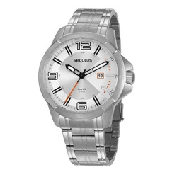 Relógio Seculus Masculino Casual 20851g0svna3 Prat... - Fábrica do Ouro