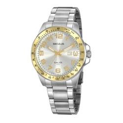 Relógio Seculus Masculino Casual 20928g0svna1 Prat... - Fábrica do Ouro