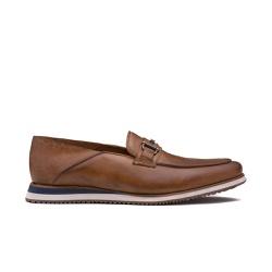 Sapato Casual Masculino GUNTER Whisky - Factum Shoes