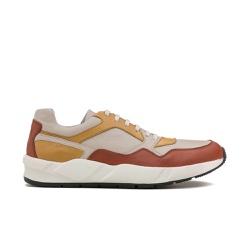 Sneakers Masculino VALENTIN Silver/Ouro - Factum Shoes